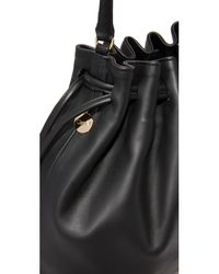 Clare V. | Black Henri Drawstring Bag | Lyst