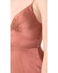 Zimmermann - Pink Sueded Tuck Dress - Lyst