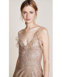 Rodarte - Metallic Sequin Tiered Dress - Lyst
