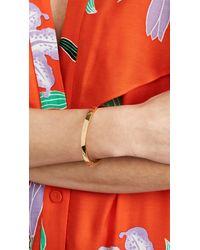 Kate Spade - Metallic One In A Million Initial Bangle Bracelet - Lyst