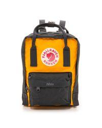 Fjallraven Yellow Kanken Mini Backpack