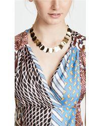 Kate Spade - Metallic Gold Standard Crew Necklace - Lyst