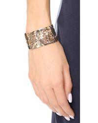 Alexis Bittar - Metallic Liquid Cuff Bracelet - Lyst