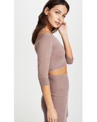 ThePerfext - Pink Off Shoulder Top - Lyst