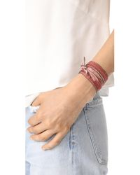 Chan Luu - Pink Multi Way Dip Dye Beaded Edge Wrap - Lyst