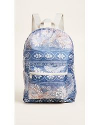 Herschel Supply Co. - Blue Packable Daypack Backpack - Lyst