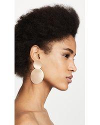 Kate Spade - Metallic The Standard Double Drop Earrings - Lyst