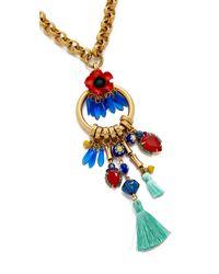 Elizabeth Cole - Multicolor Celina Necklace - Lyst