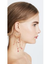Shashi - Pink Thea Earrings - Lyst