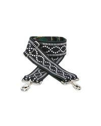 Carrie'd NYC - Black Ryder Reversible Guitar Handbag Strap - Lyst