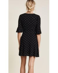 Free People - Black All Yours Mini Dress - Lyst