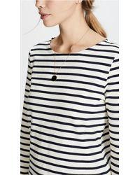 Petit Bateau - Multicolor Leny Long Sleeve Striped Tee - Lyst