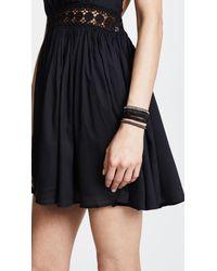 Chan Luu - Black Wrap Bracelet - Lyst
