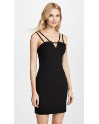 Black Halo - Black Delia Mini Dress - Lyst