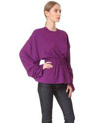 Solace London   Purple Macy Top   Lyst