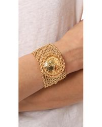 Rosantica - Metallic Medallion Chain Bracelet - Lyst