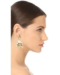 Elizabeth and James | Metallic Asher Earrings | Lyst