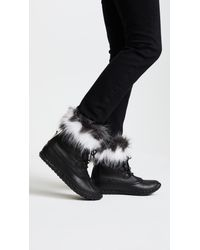 Sorel - Black Out N About Luxe Boots - Lyst