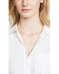 Jennifer Zeuner - Metallic Luz Mini Necklace - Lyst