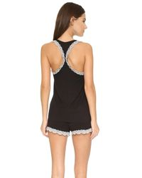 Honeydew Intimates - Black All American Shortie Pajama Set - Lyst