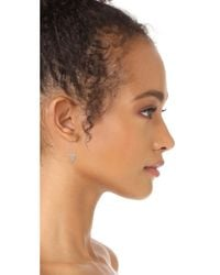 Rebecca Minkoff - Metallic Alexandria Pin Earrings - Lyst