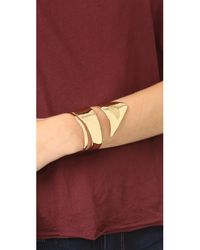 Alexis Bittar - Purple Liquid Armor Cuff Bracelet - Lyst