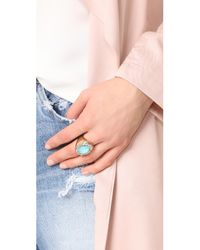 Alexis Bittar - Metallic Crystal Encrusted Custom Stone Ring - Lyst