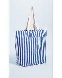 Baggu - Blue Giant Pocket Tote Bag - Lyst