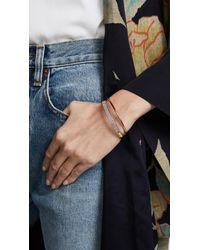 Kate Spade - Multicolor Heavy Metals Pave Row Bangle Bracelet - Lyst