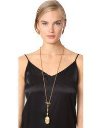 Ben-Amun - Metallic Gold Locket Necklace - Lyst