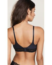 Skarlett Blue - Black Bloom T-shirt Bra - Lyst