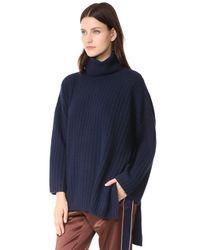 Joseph - Blue Sweater - Lyst