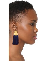 Lizzie Fortunato - Blue Crater Earrings - Lyst