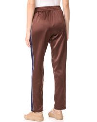 Opening Ceremony - Multicolor Reversible Silk Track Pants - Lyst