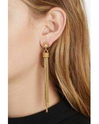 Rachel Zoe - Metallic Brenna Tassel Earrings - Lyst