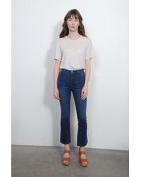 Raquel Allegra - Men's Tee In Dirty White - Lyst