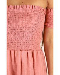 Showpo - Pink Got Your Own Way Dress In Rose - Lyst