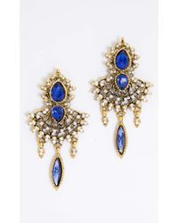 Showpo | Multicolor Ceremonial Earrings In Gold | Lyst
