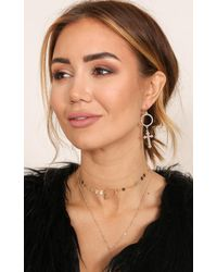 Showpo - Multicolor The Flight Home Earrings In Gold - Lyst