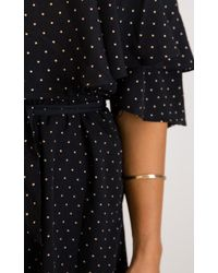 Showpo | Clear Skies Dress In Black Print | Lyst