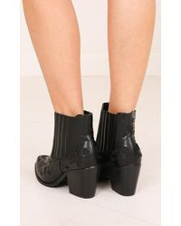 Showpo - Therapy Shoes - Meadow In Black - Lyst