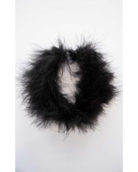 Showpo - Fight Fur With Fur Choker In Black - Lyst