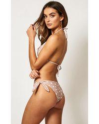 Showpo Brown Hallie Bikini Bottom
