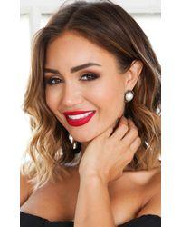 Showpo - Multicolor Glisten Earrings In Pearl - Lyst