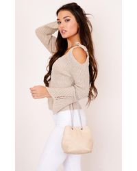 Showpo - Natural Inclination Bag In Beige - Lyst