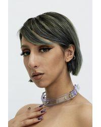 Fleet Ilya - Multicolor Clear Studded Choker - Lyst