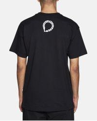 Christopher Shannon Black Haters Direct T-shirt for men