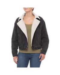 Lyst Buffalo Graphite Hailey Moto Jacket For Women
