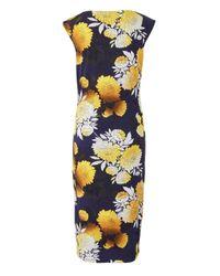 Simply Be - Blue Joanna Hope Print Dress - Lyst