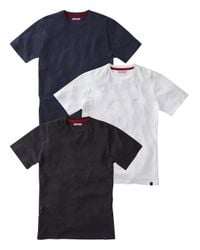 Simply Be - Blue Joe Browns 3 Pack T-shirt for Men - Lyst
